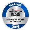 Australian Broking Awards - Residential Broker of the Year 2016 - Finalist