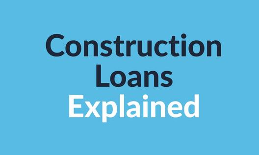 Tile construction loans explained